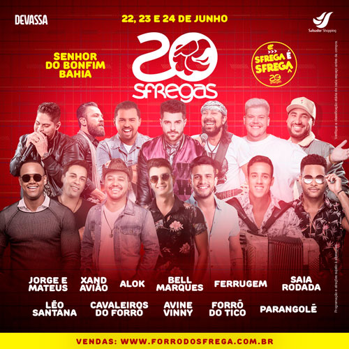 FORRÓ DO SFREGA 20 ANOS