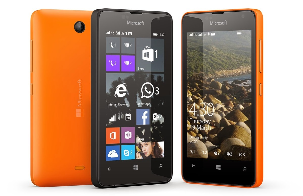 Windows phone, Microsoft Lumia 430, Lumia 430