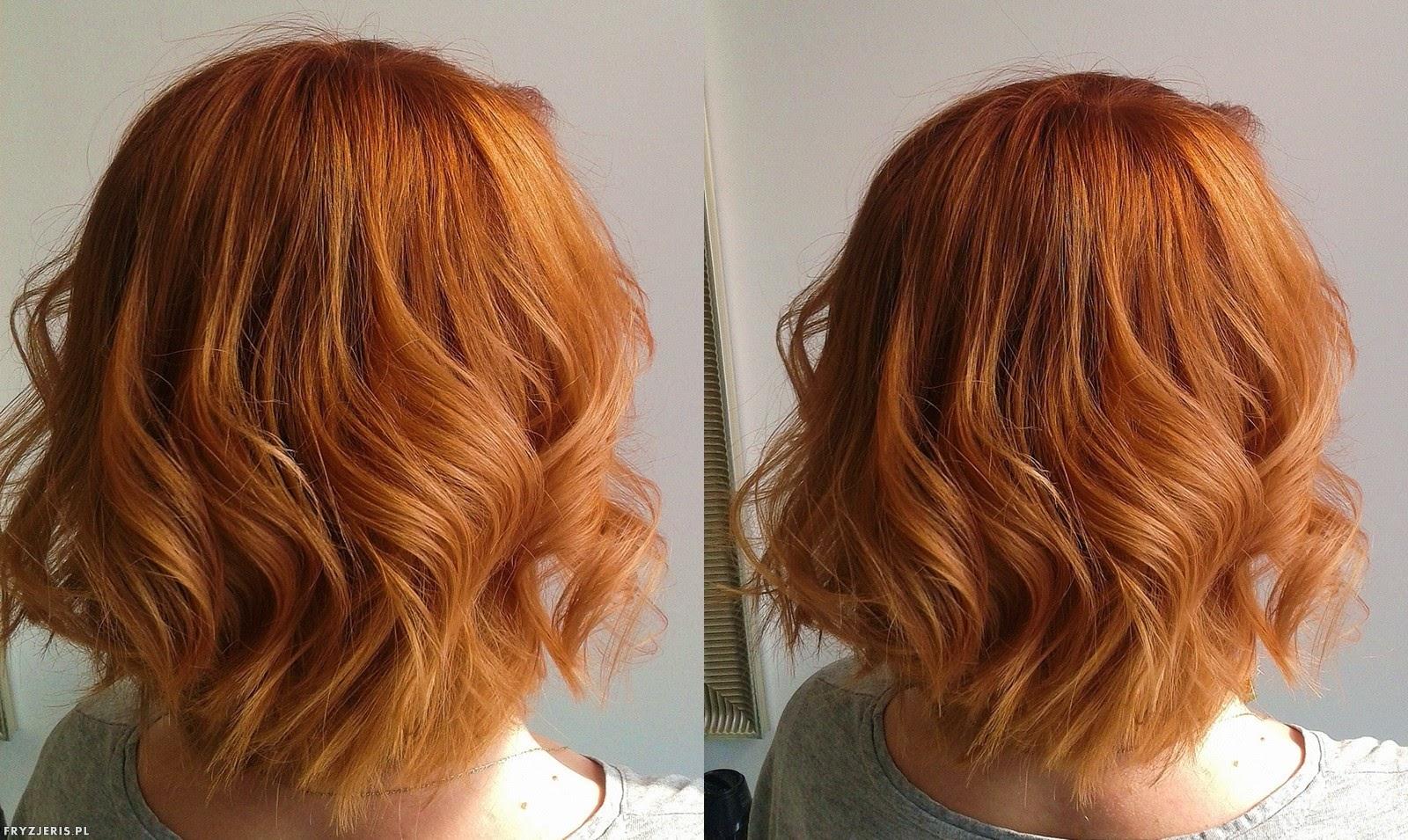 koloryzacja rudy kolor włosów 3