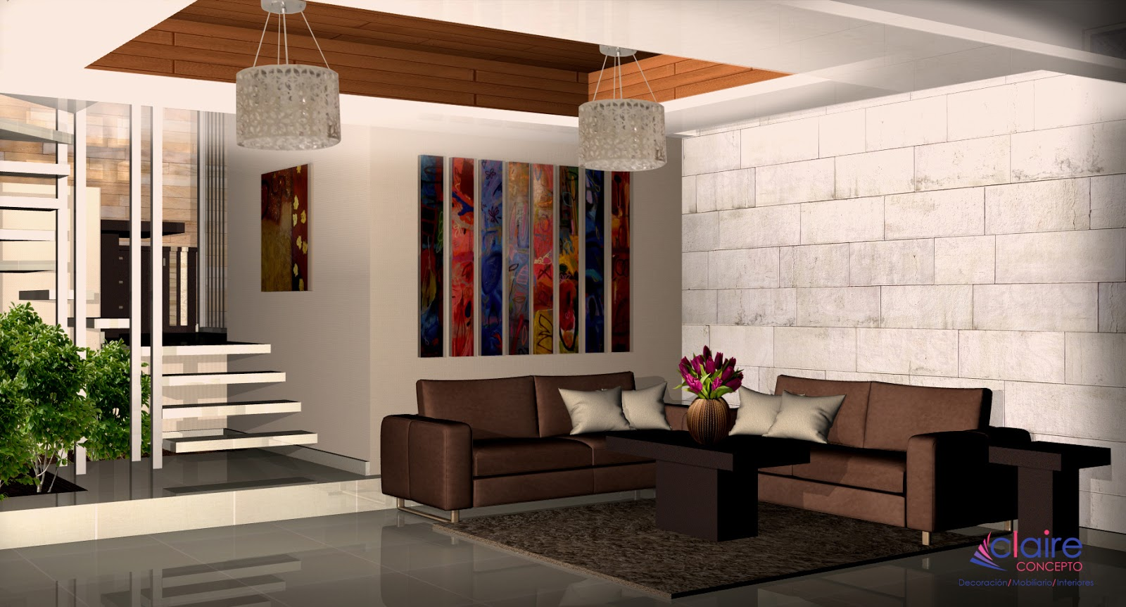 Plafones de tablaroca falso plaf n paredes decoradas y muebles minimalistas dise o de casas - Diseno y decoracion de casas ...