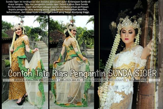 Contoh Tata Rias Pengantin SUNDA SIGER - Make Up dan Busana oleh Dhita Rias Pengantin Purwokerto, Ketua DPC Harpi Banyumas