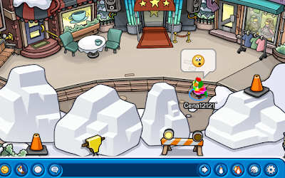 Club Penguin Festival of Snow Party Preparation