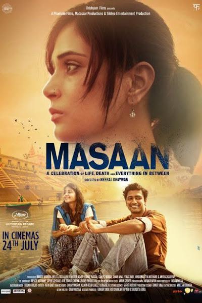 Poster Of Masaan 2015 720p DVDRip Hindi