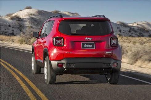 Jeep Renegade Eksterior Merah