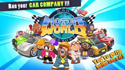 Motor World : automobile factory v.1.464 Apk Download [ Mod money]