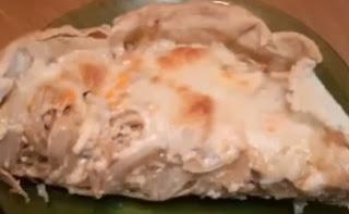 Receta Tarta de cebollas y remolacha