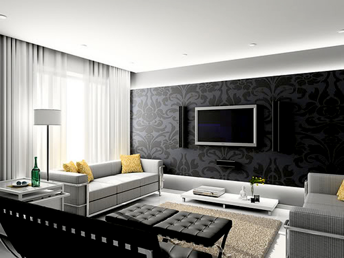 Living room decorating ideas interior decorating idea for Interior design living room elegant