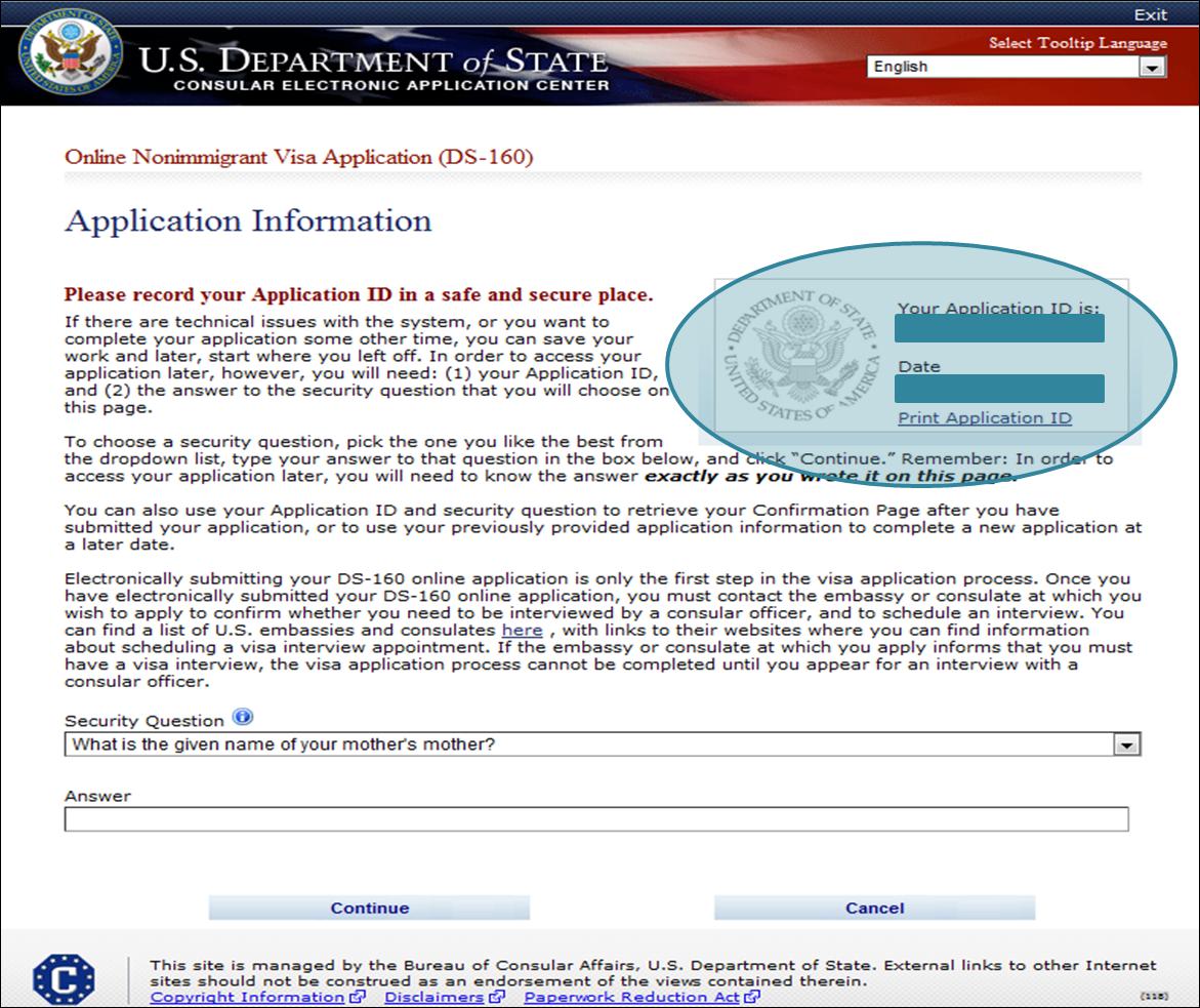 formulaire ds 160 visa usa pdf