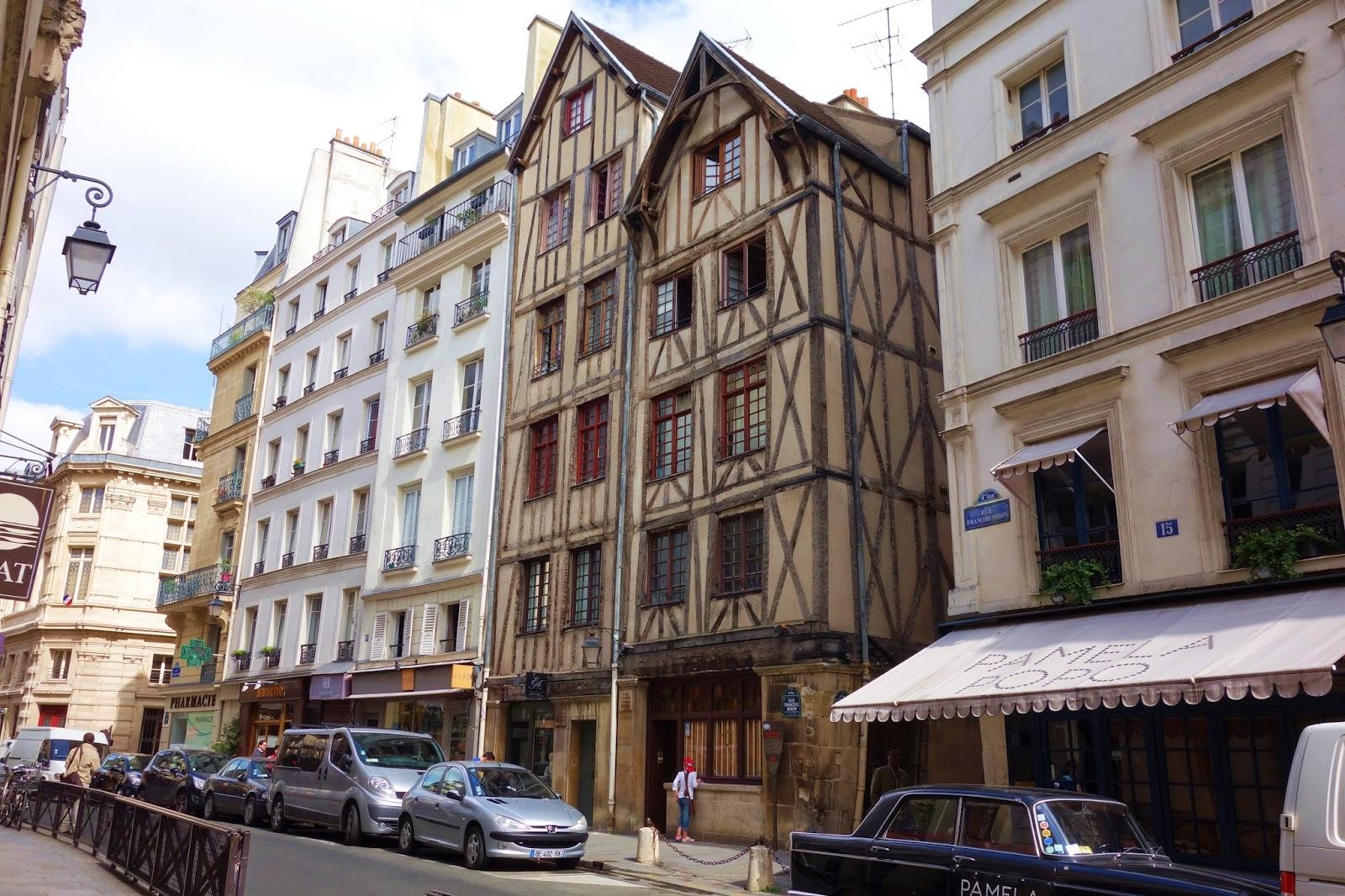 paris les plus anciennes maisons de paris les