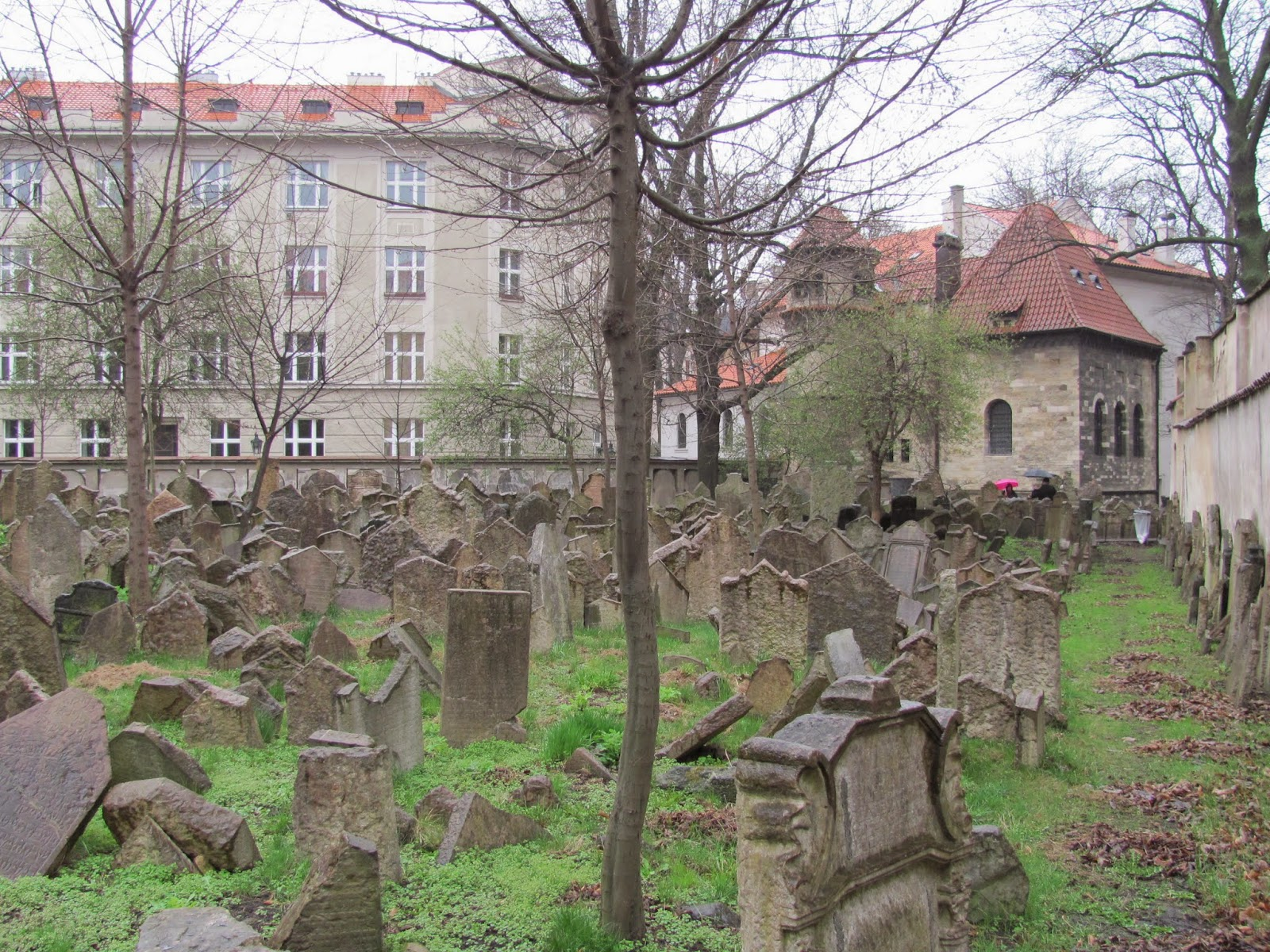 Old Jewish Cemetery Prague, Czech Republic