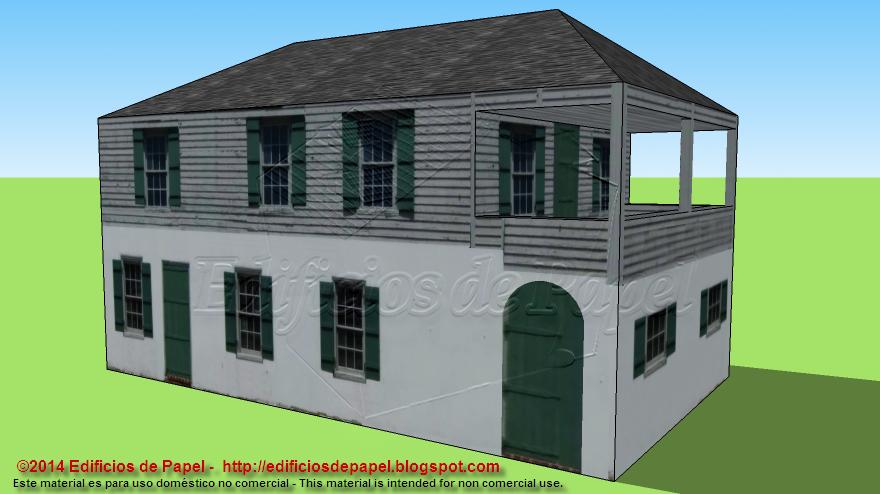 Casa colonial más antigua en Florida