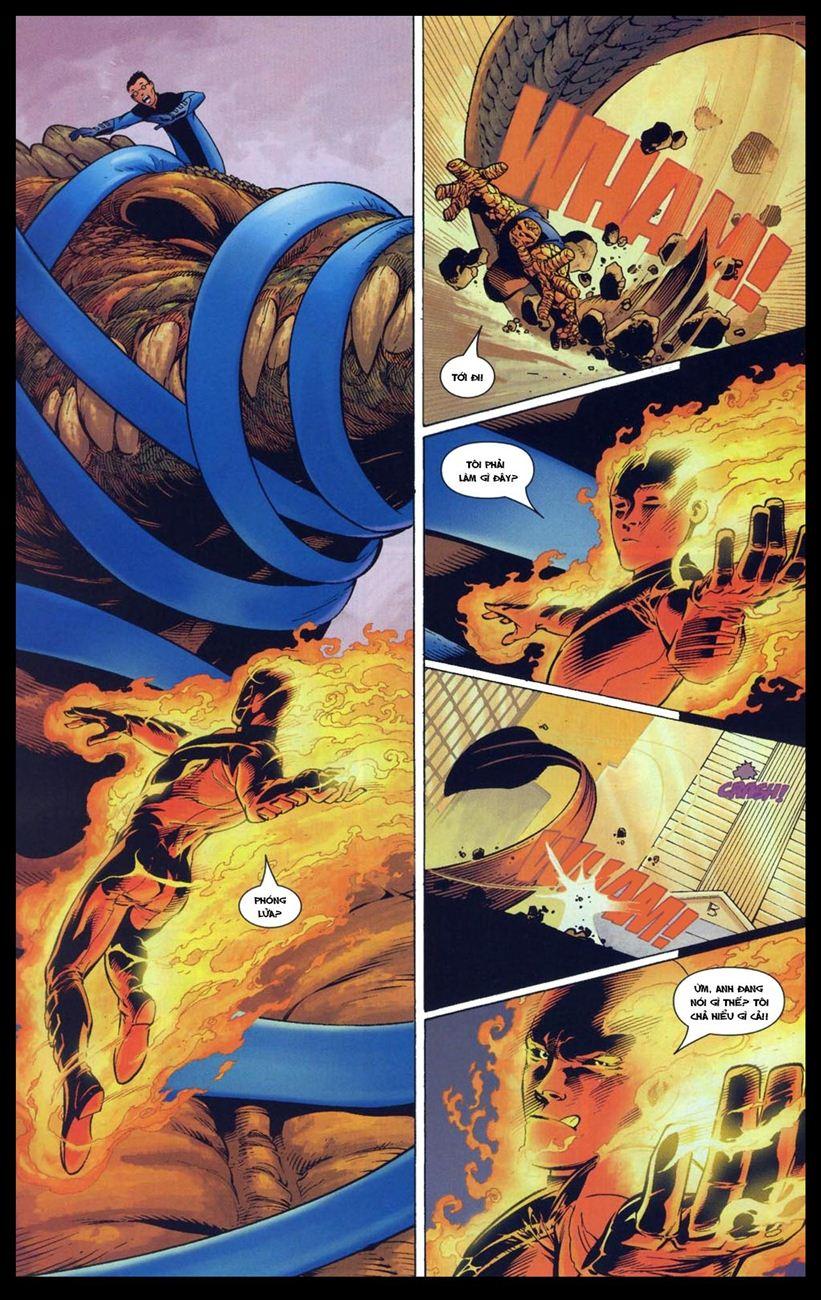 Ultimate Fantastic Four chap 5 - Trang 9