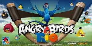 Angry Birds Rio Android game exclusively debuts on Amazon