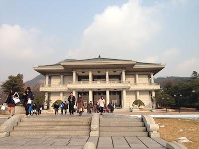 Cheong Wa Dae at Seoul South Korea