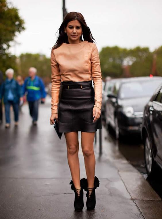 Australia's Harpers Bazaar Fashion Editor Christine Centerena