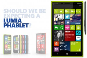 Phablet Nokia Pertama bakal Rilis pada 19 September 2013