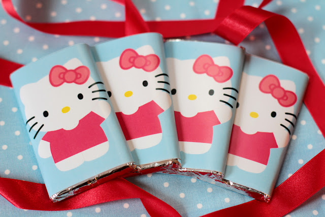 Chocolatinas de Hello Kitty