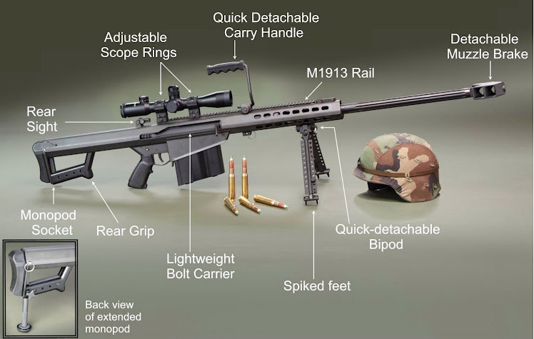 M107 anti vehicle sniper rifle