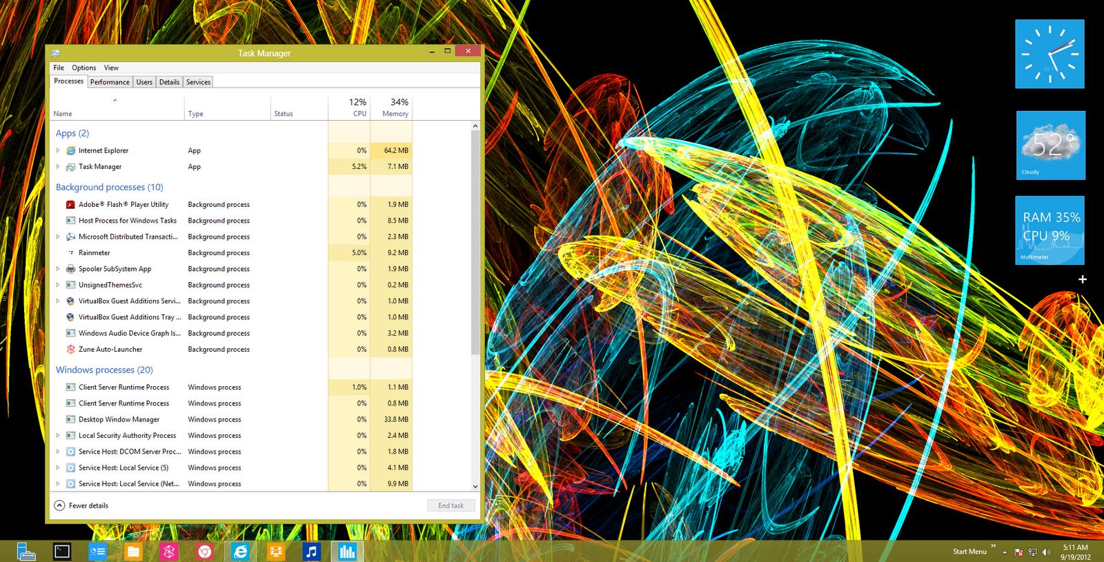 how to take screenshot on windows server 2012
