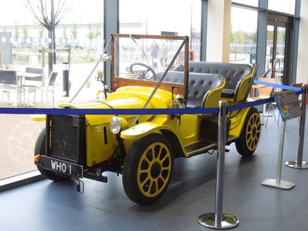 Original Third Doctor Bessie car