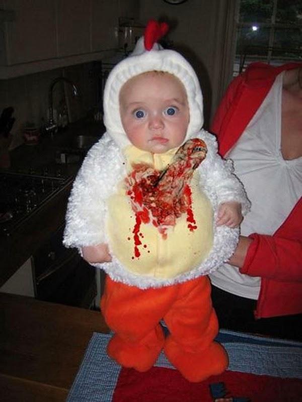 disfraces para ninos que den miedo