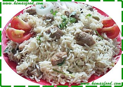 Soya Chunks Biryani - Meal Maker Biryani