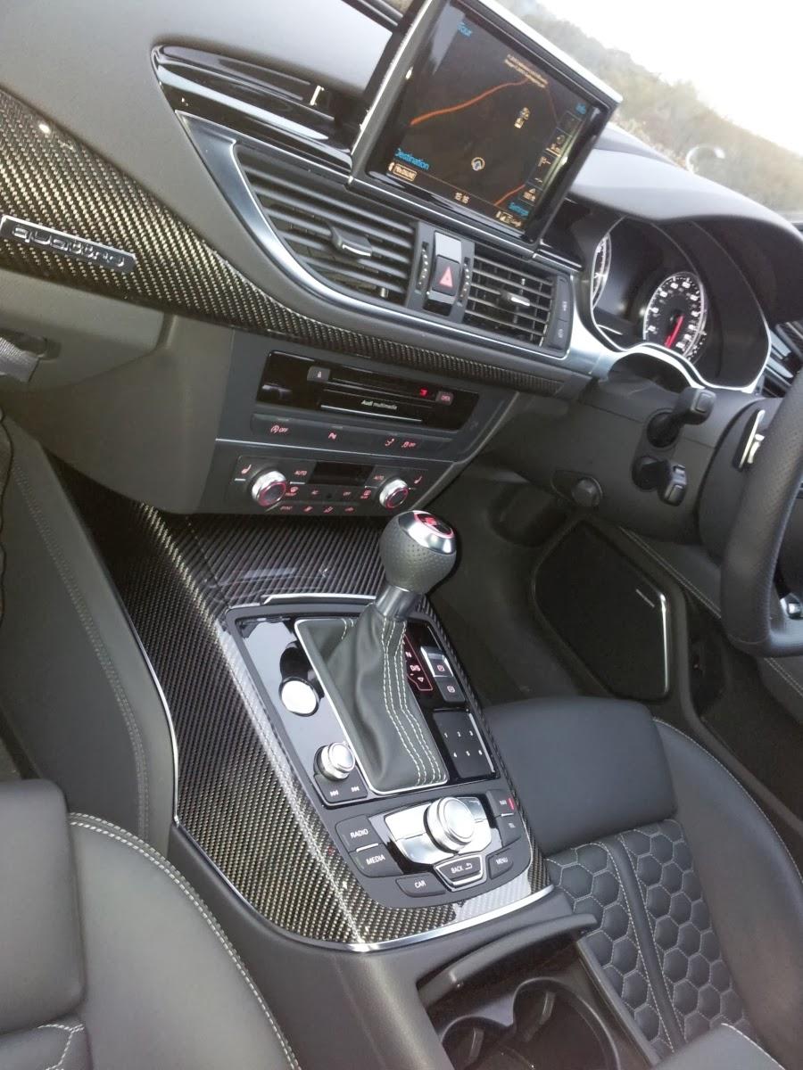 2014 Audi RS7 interior