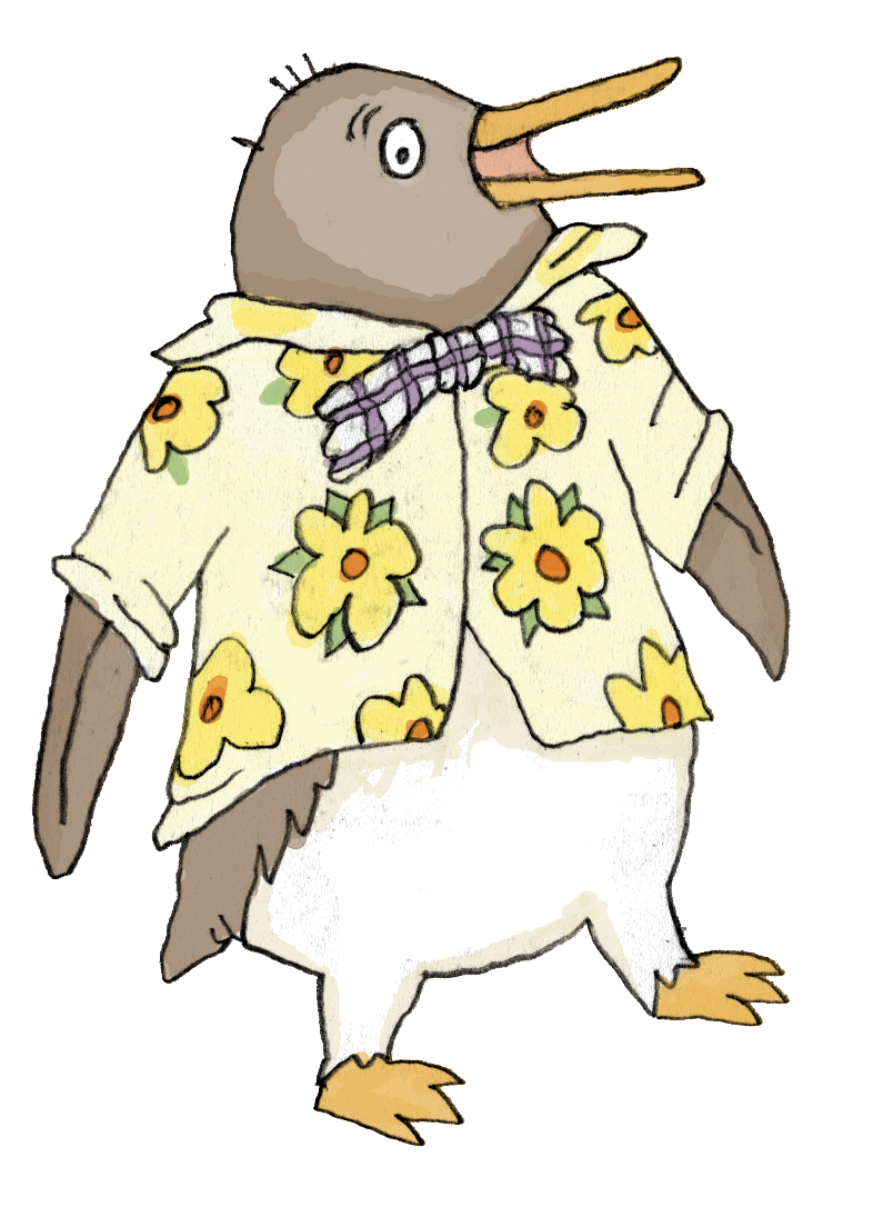 tacky the penguin coloring pages - photo#25