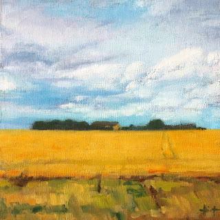 Wheatfields by Liza Hirst