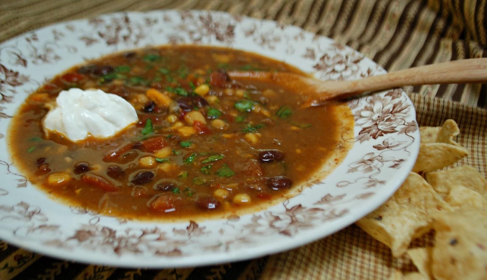 Black Bean Soup With Chipotle Chiles Recipe — Dishmaps