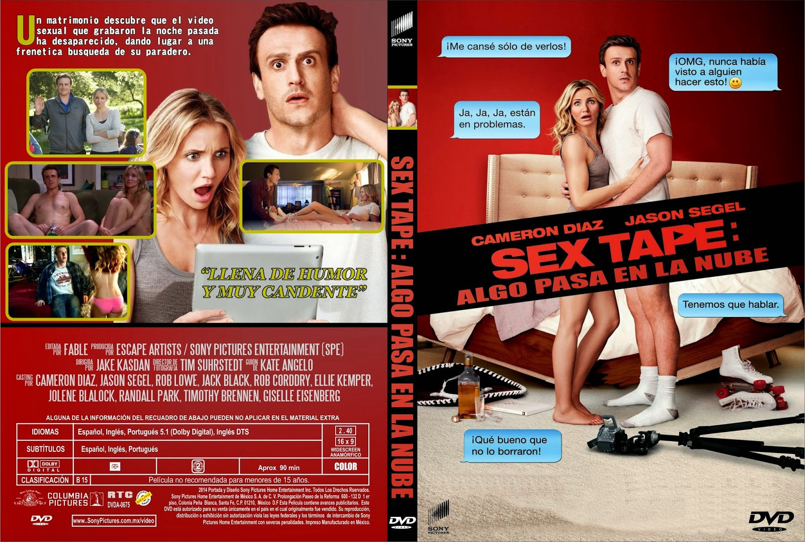 Sex Tape Algo Pasa En La Nube DVD