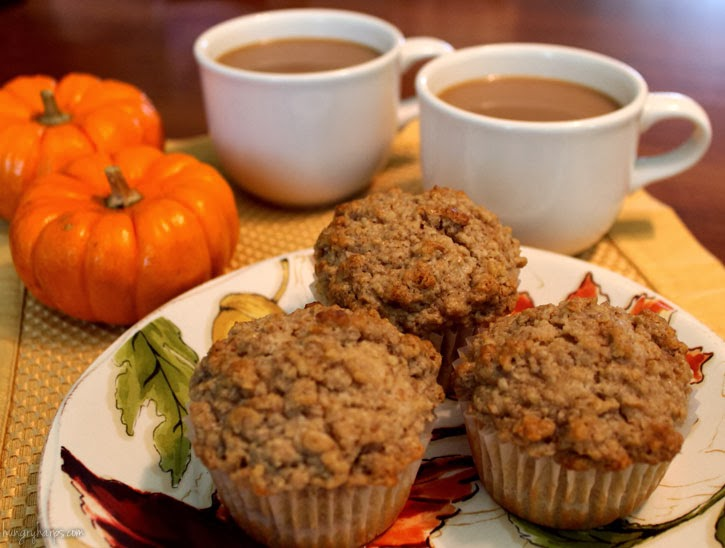 Connecting Over Coffee & Cinnamon Muffins with Maple-Oat Streusel #loveyourcup #shop #cbias