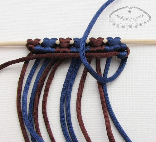 węzeł rypsowy - makrama - 16