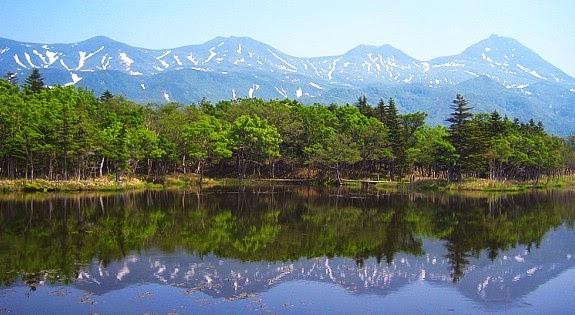جزيرة هوكايدو الجميله