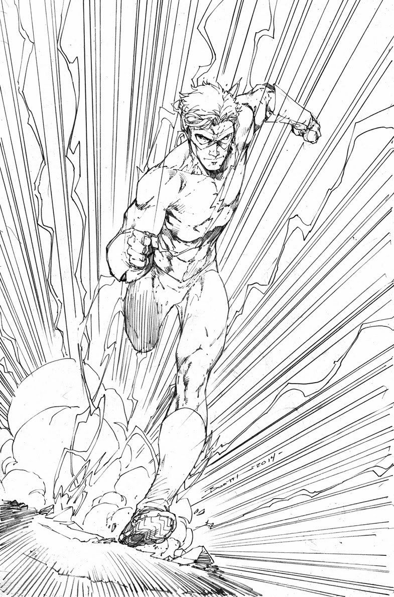The Flash Line Art : Demonpuppy s wicked awesome art happy last weeks