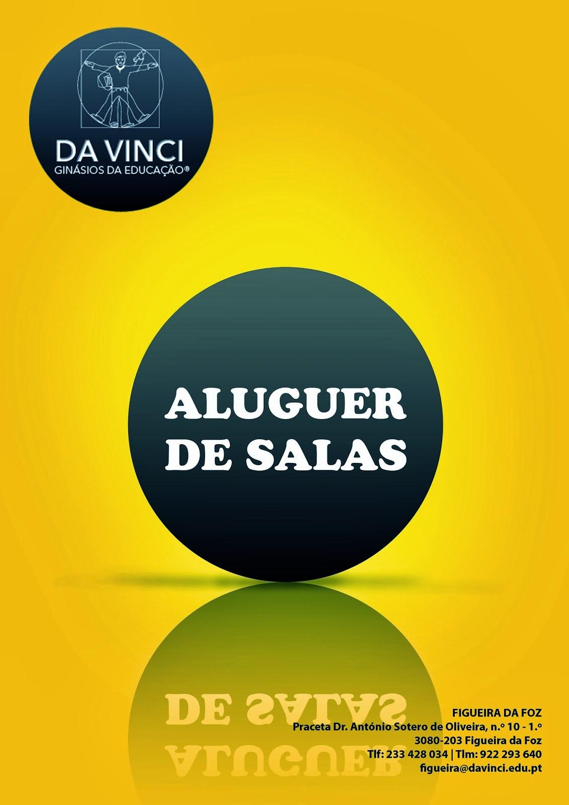 Aluguer de Salas