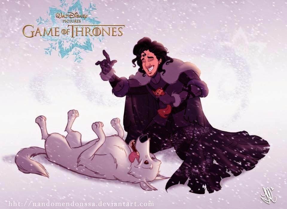 Versión Disney de Juego de Tronos - Jon Nieve
