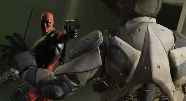 Deadpool SDCC 2012 Video Game Teaser Trailer featuring the Merc with a Mouth Breaking the Fourth Wall of video games