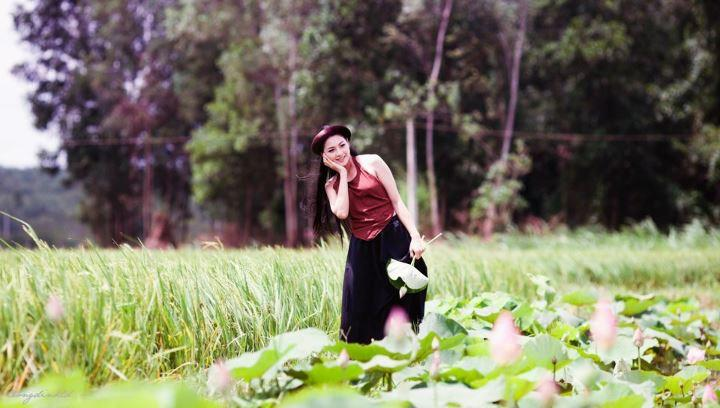 Thai nha van lo nhu hoa 041 Trọn bộ ảnh Thái Nhã Vân lộ nhũ hoa cực đẹp