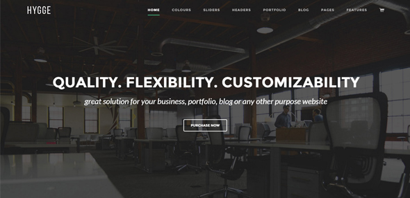 T- TWO Creative Business WordPress Theme