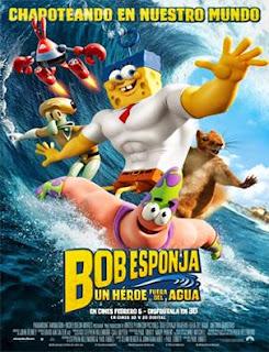 pelicula completa Bob Esponja: Un héroe fuera del agua en español latino online