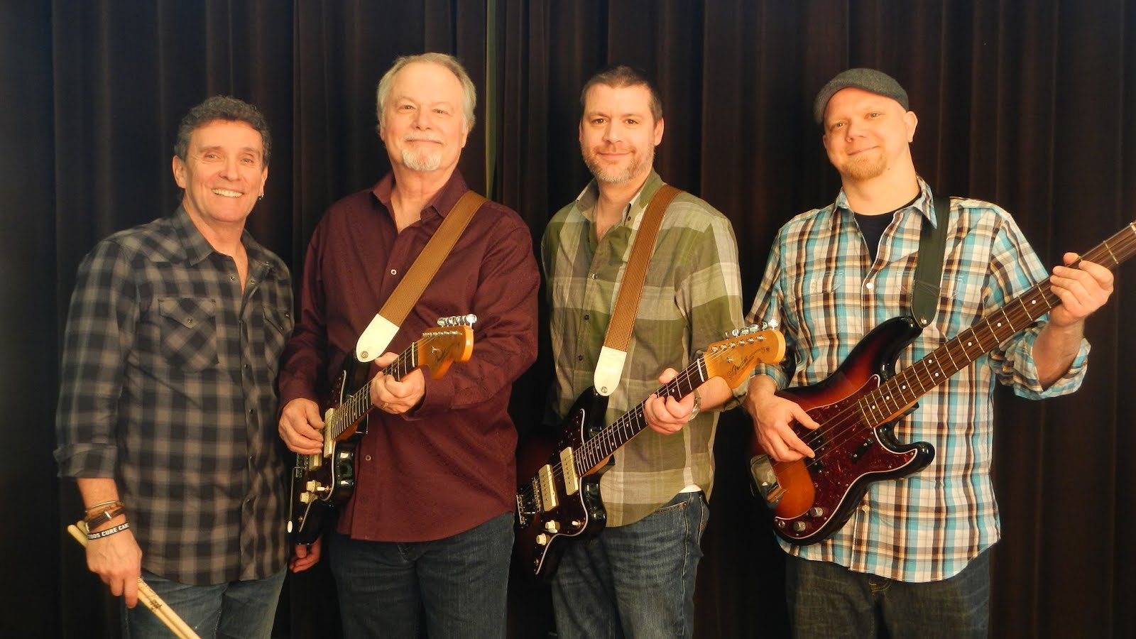 The Ventures - USA, Europe, Canada and South America Tour Members