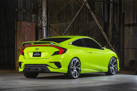 2016 Honda Civic Coupe Specs and Review
