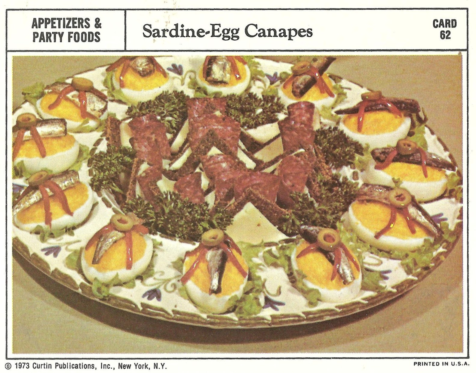 Bad and ugly of retro food the epitome of 1970s food recipe cards theres so much gross in one little egg sochoss forumfinder Gallery