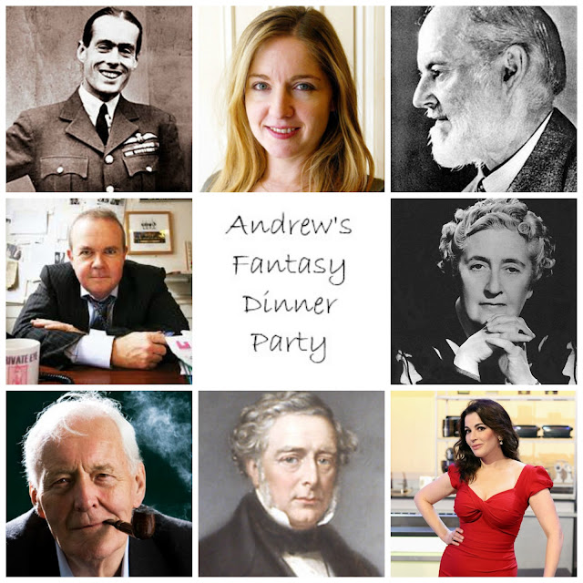 Andrew's fantasy dinner party guests