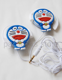 Earphone Cartoon Character