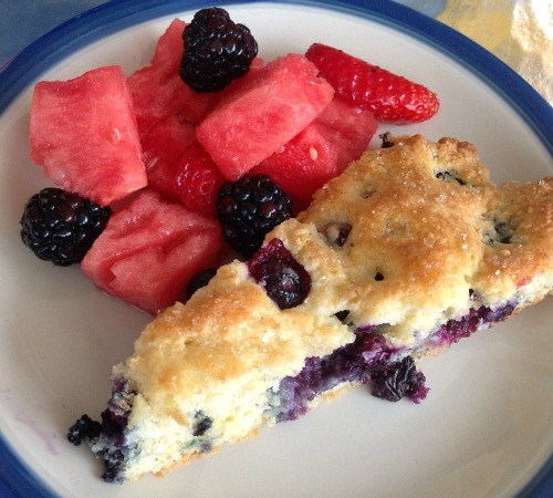 Blueberry Lemon Breakfast Scones