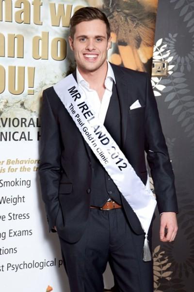 Mister Ireland 2012 Leo Delaney