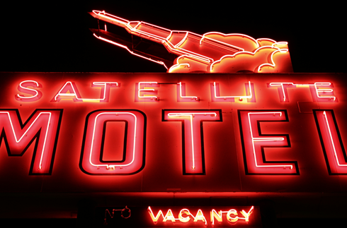 satellite motel medicine hat alberta photography