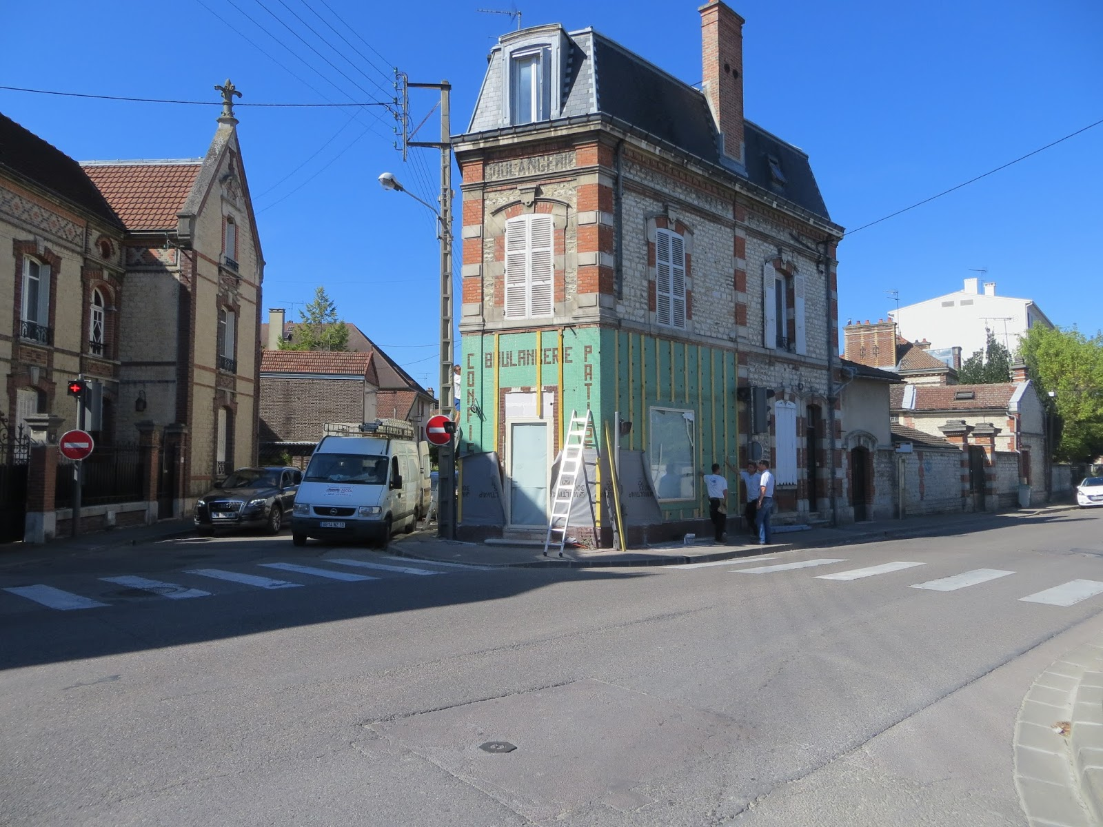 travaux auxerre troyes
